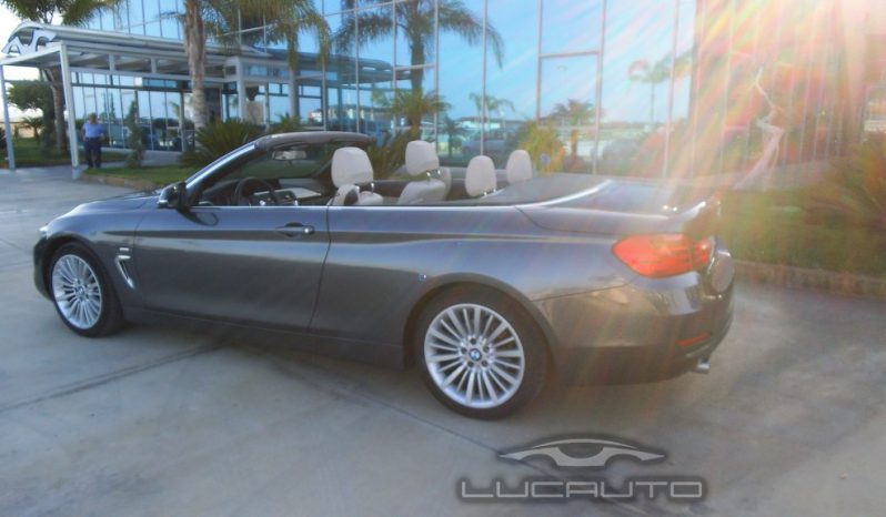 BMW 420d Cabrio Luxury 2016 completo