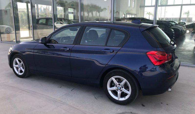 BMW 116i 5p. Advantage 109 CV 10/2018 Aziendale completo